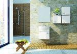 Łazienka, meble łazienkowe z kolekcji Flex