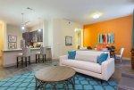 kolorowy pokój dzienny